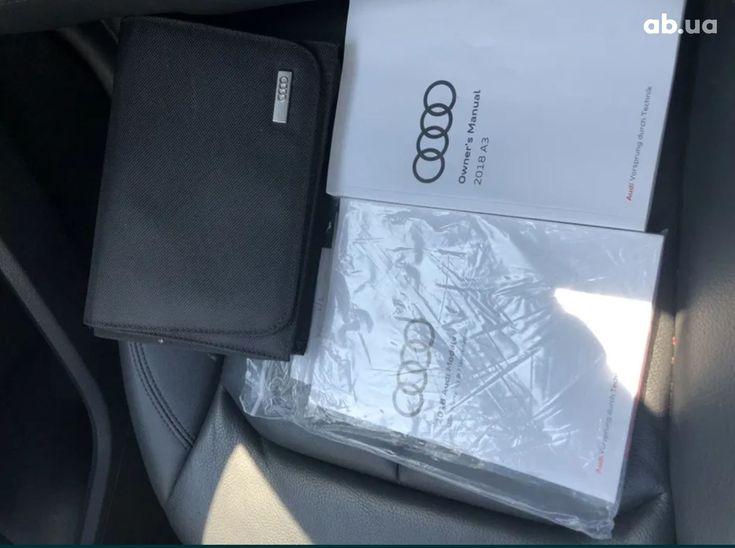 Audi A3 2018 белый - фото 20