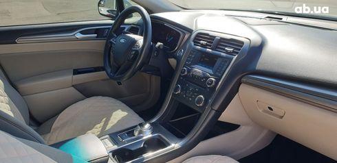 Ford Fusion 2017 белый - фото 14