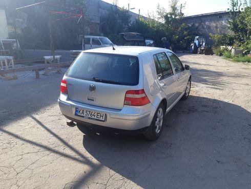Volkswagen Golf 2003 серебристый - фото 5