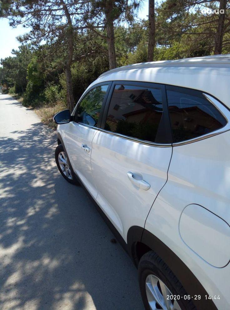 Hyundai Tucson 2019 белый - фото 7
