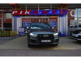 Автомобиль дизель Ауди SQ7 2017 года б/у - купить на Автобазаре
