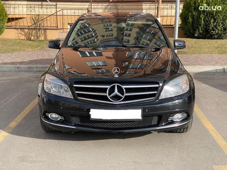 Mercedes-Benz C-Класс 2008 черный - фото 2