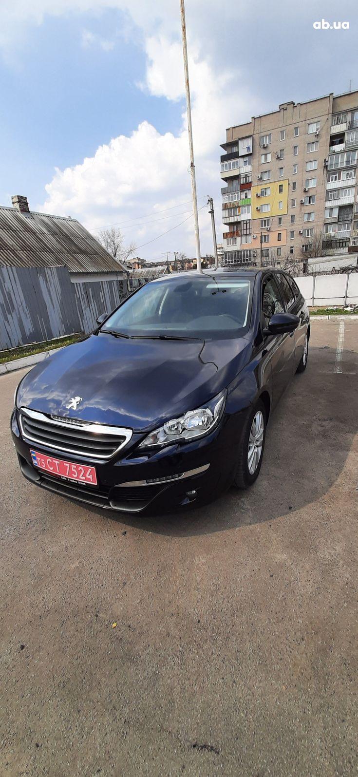 Peugeot 308 2015 синий - фото 2