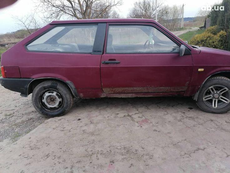 ВАЗ 2108 1993 красный - фото 8