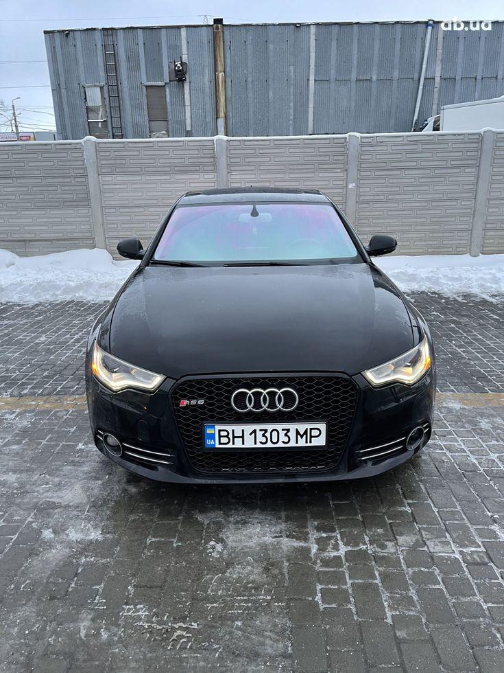 Audi A6 2013 черный - фото 11