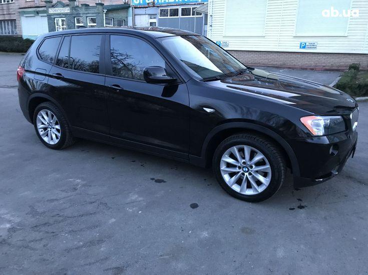 BMW X3 2013 черный - фото 5