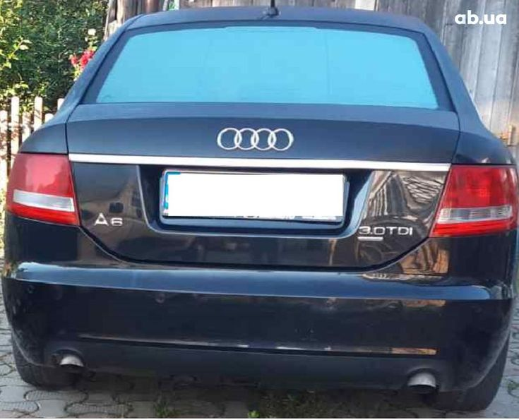 Audi A6 2005 черный - фото 2