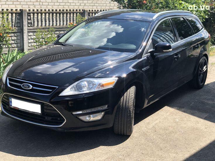 Ford Mondeo 2012 черный - фото 1