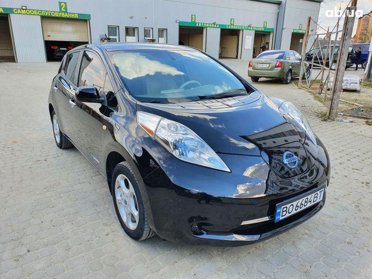 Nissan Leaf 2014 черный - фото 2