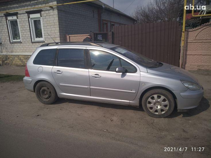 Peugeot 307 2005 серый - фото 12