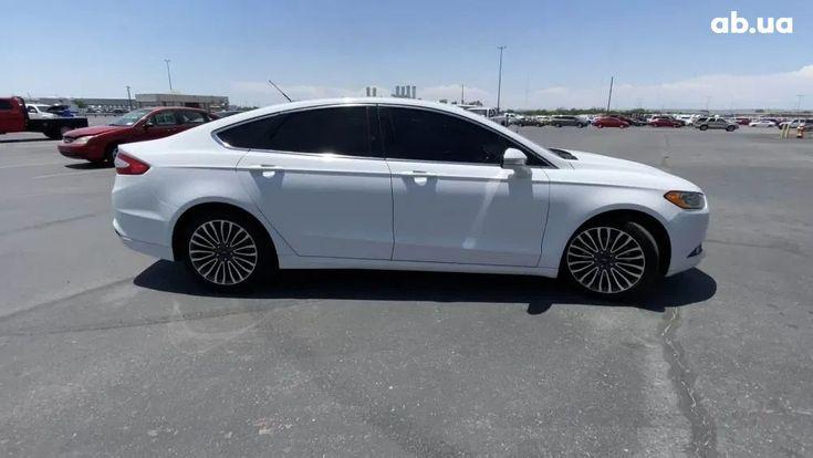 Ford Fusion 2014 белый - фото 3