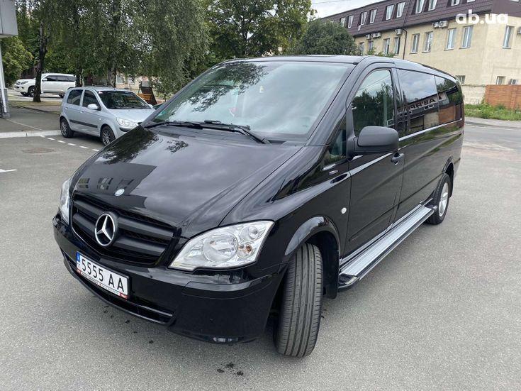 Mercedes-Benz Vito 2013 черный - фото 1