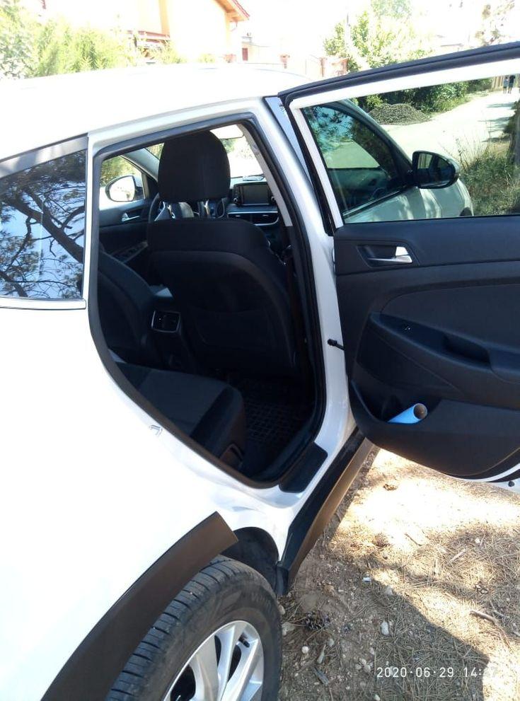 Hyundai Tucson 2019 белый - фото 5