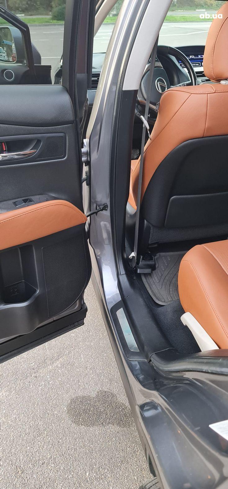 Lexus rx 350 2013 серый - фото 5