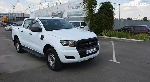 Ford Ranger 2017 белый - фото 1