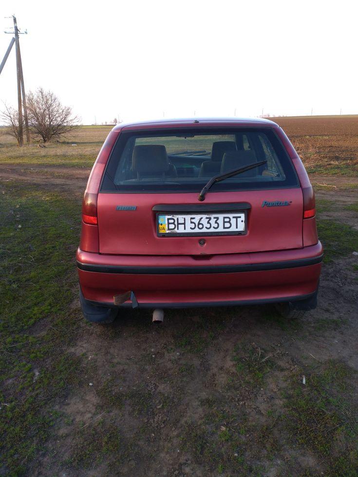 Fiat Punto 1998 красный - фото 5