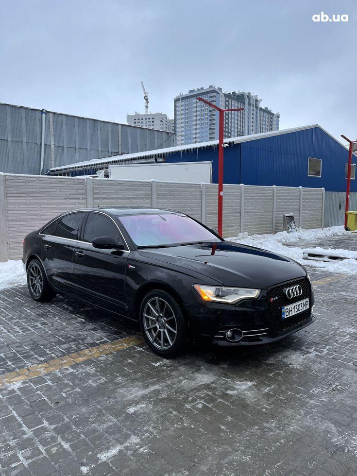 Audi A6 2013 черный - фото 3