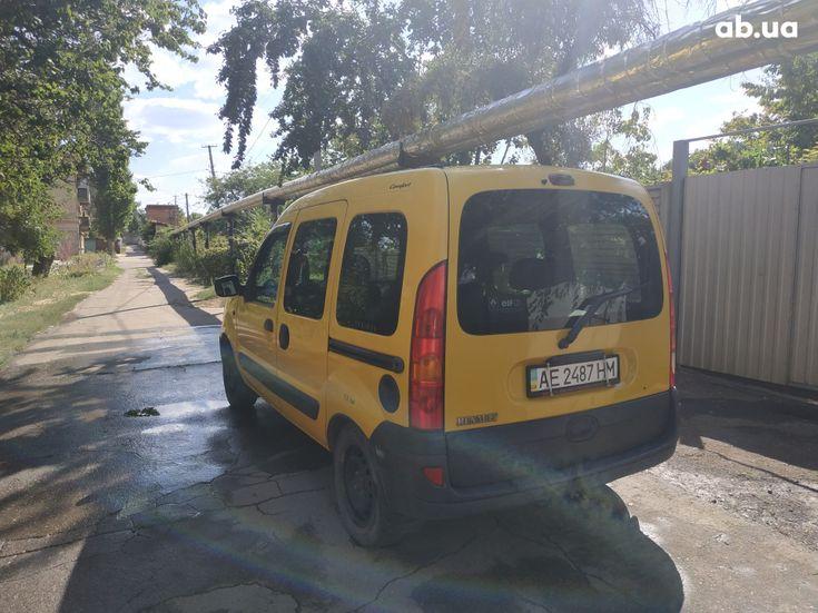 Renault Kangoo 2003 желтый - фото 4