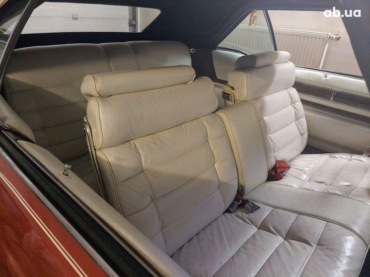 Cadillac Eldorado 1979 вишневый - фото 6