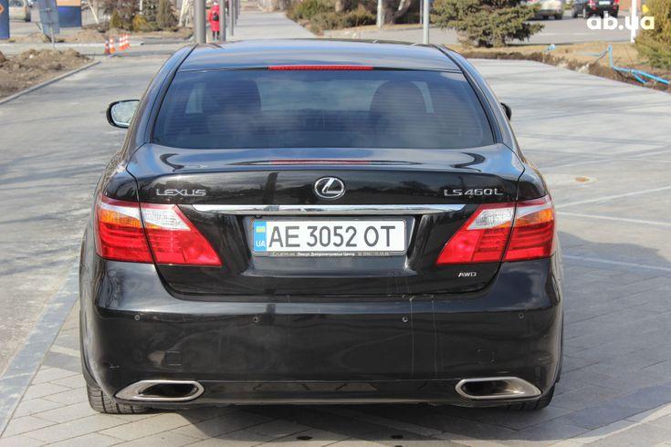 Lexus LS 2010 черный - фото 3