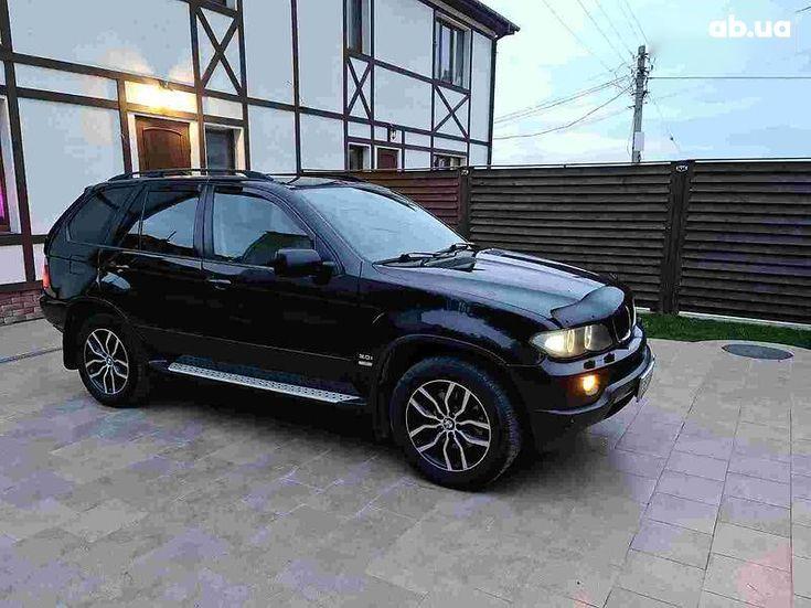 BMW X5 2005 черный - фото 7