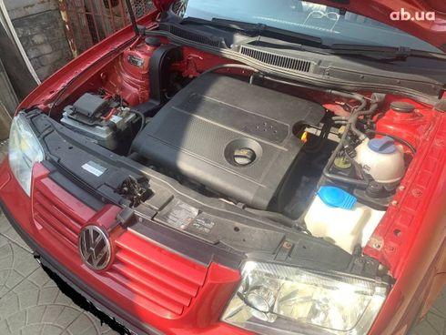 Volkswagen Bora 2004 красный - фото 11