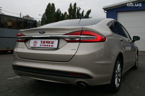 Ford Fusion 2017 серый - фото 4