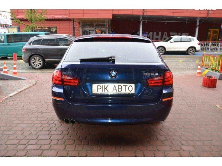 BMW 5 серия 2011 синий - фото 4