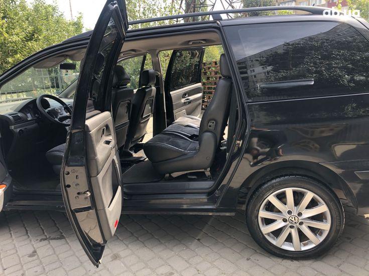 Volkswagen Sharan 2000 черный - фото 8