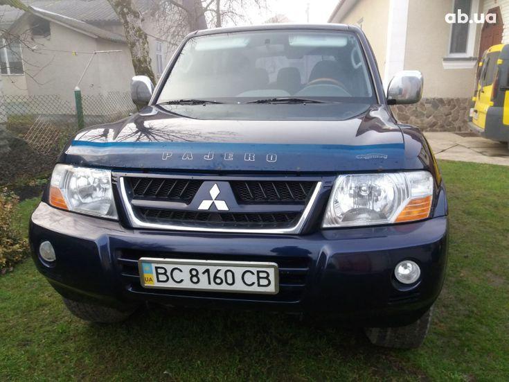Mitsubishi Pajero Wagon 2005 синий - фото 1