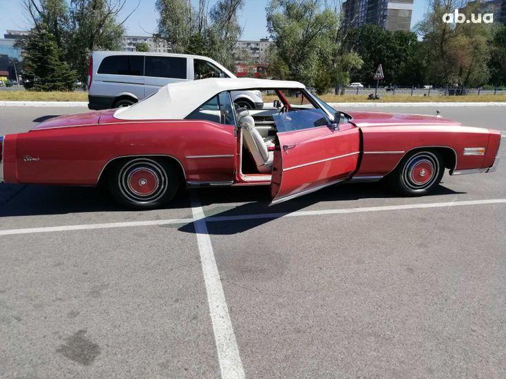 Cadillac Eldorado 1979 вишневый - фото 2