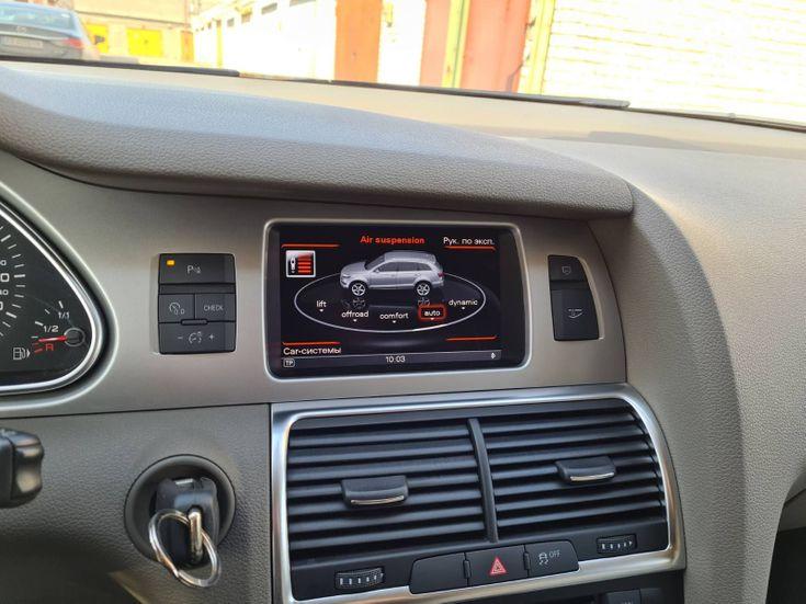 Audi Q7 2012 черный - фото 4