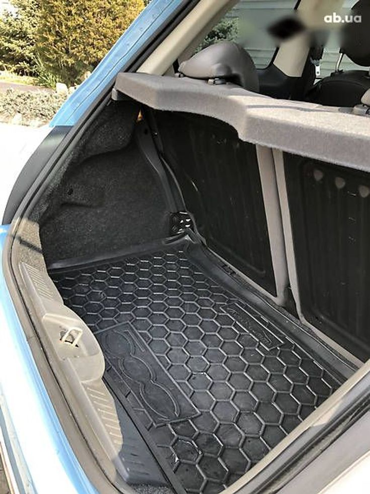 Fiat 500 2011 синий - фото 7