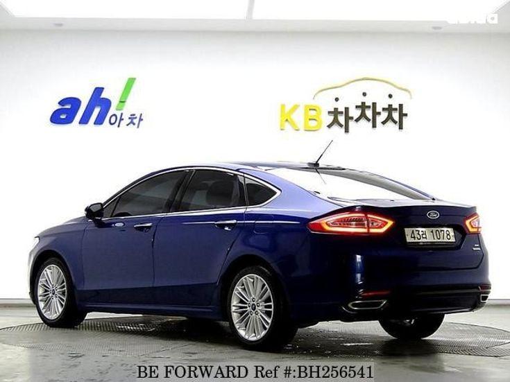 Ford Fusion 2014 синий - фото 3