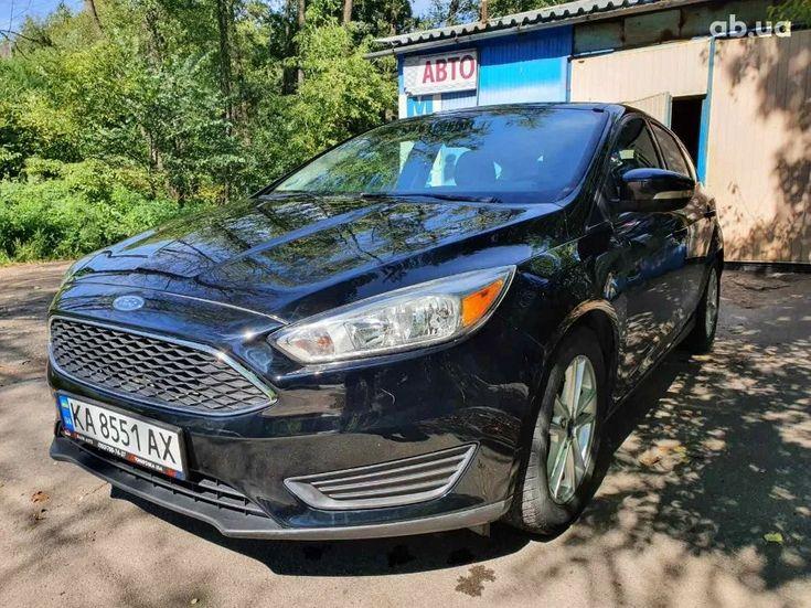 Ford Focus 2016 черный - фото 8