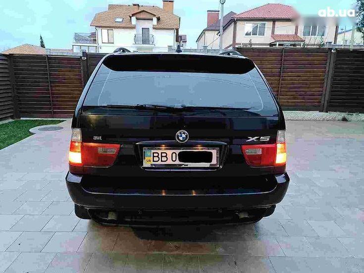 BMW X5 2005 черный - фото 4