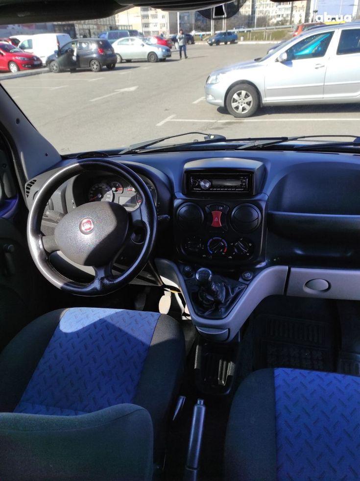Fiat Doblo 2008 синий - фото 5