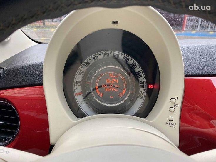 Fiat 500 2011 белый - фото 9