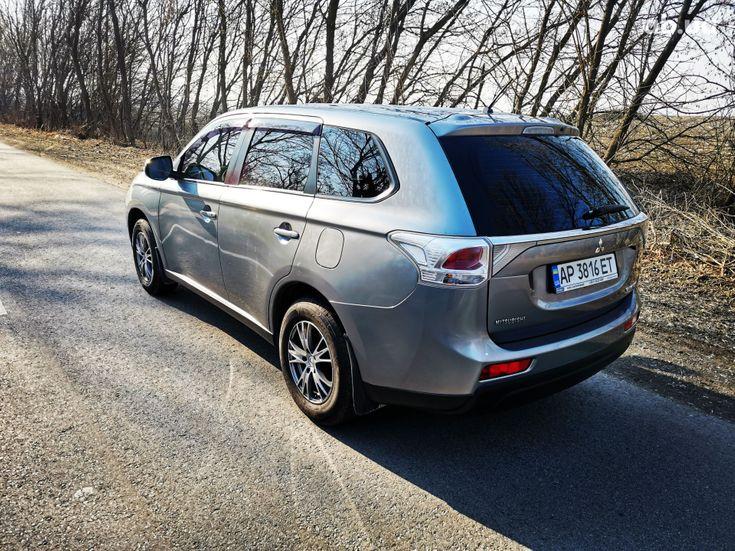 Mitsubishi Outlander 2014 серый - фото 6