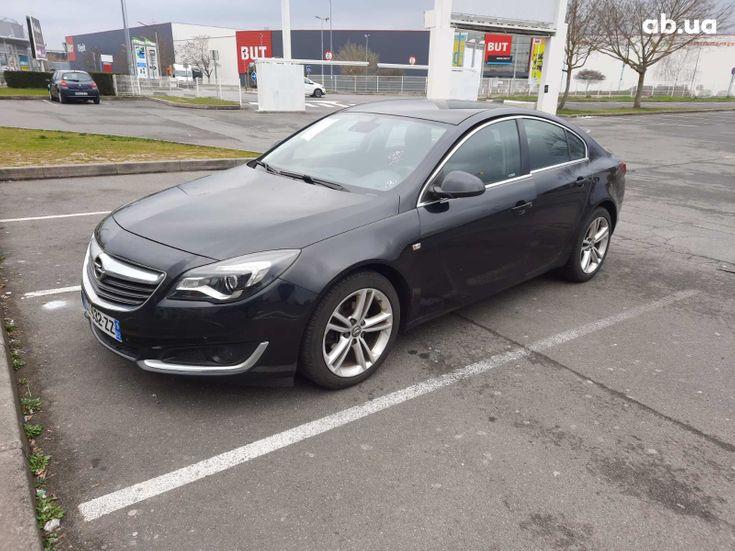 Opel Insignia 2016 черный - фото 1