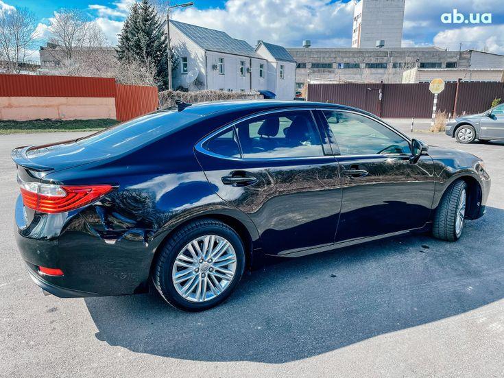 Lexus es 350 2013 черный - фото 11