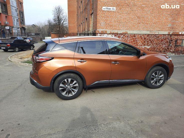 Nissan Murano 2015 оранжевый - фото 2