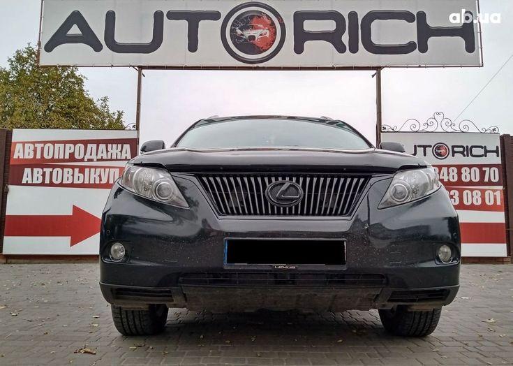 Lexus RX 2010 черный - фото 2