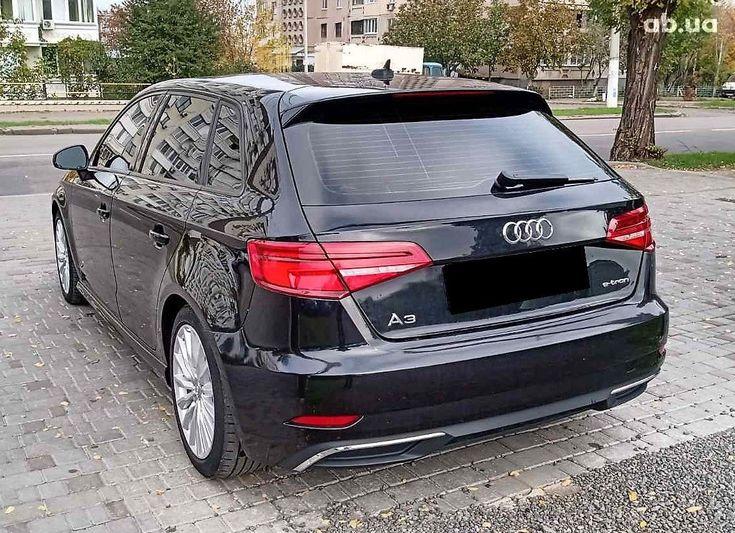Audi A3 2017 черный - фото 6