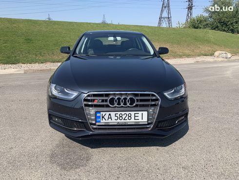 Audi A4 2014 черный - фото 1