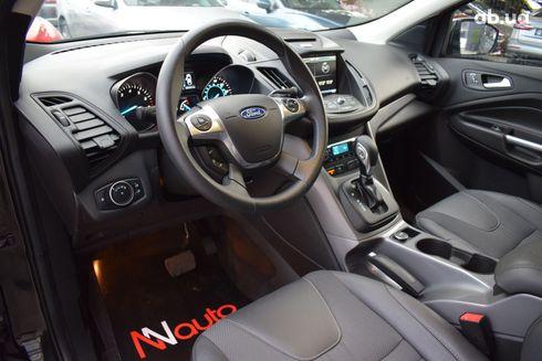 Ford Escape 2016 черный - фото 7