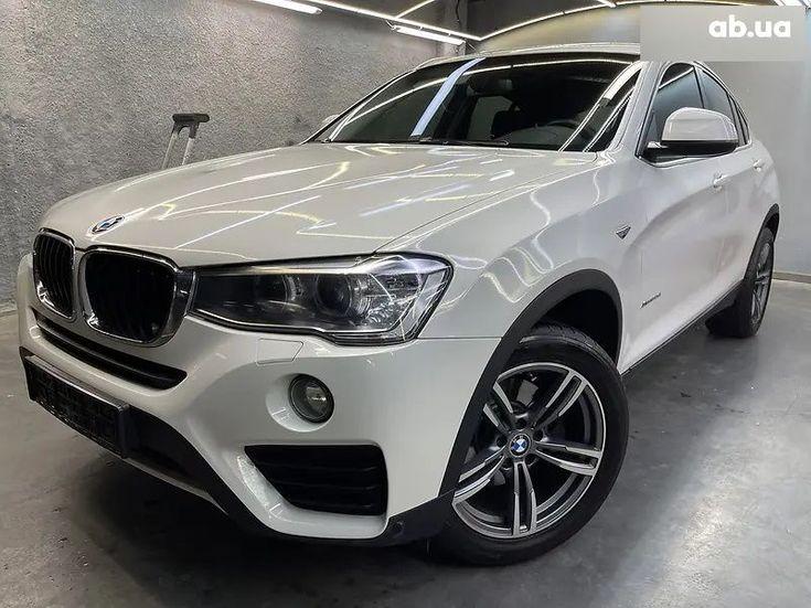 BMW X4 2016 белый - фото 4