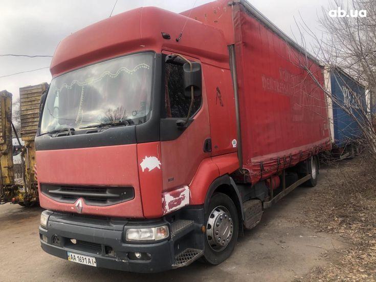 Renault Premium 2000 красный - фото 1
