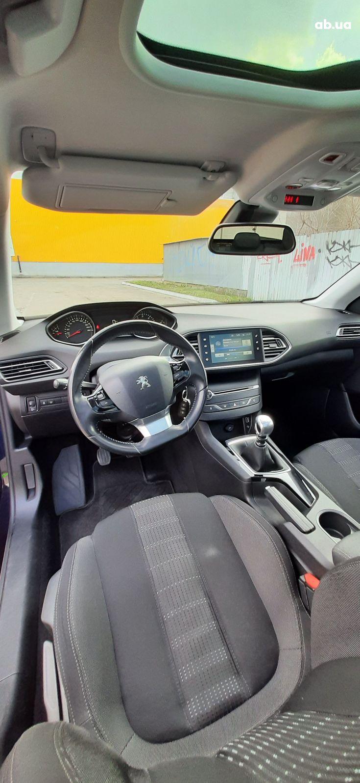 Peugeot 308 2015 синий - фото 17