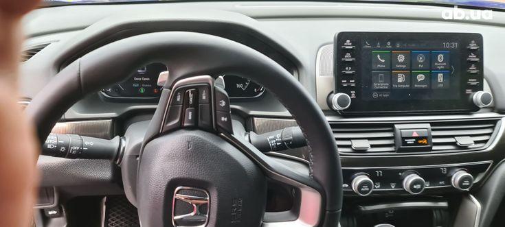 Honda Accord 2019 синий - фото 5